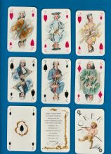 Vintage Collectibleplaying cards Clavecin by Cartel-Farcy c.1960 designed by G